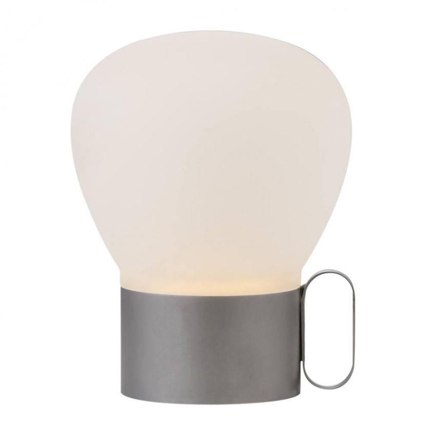 Lampa portabila, iluminat decorativ pentru exterior sau interior Nuru gri 48275003 DFTP, Veioze, Lampi de masa,  a
