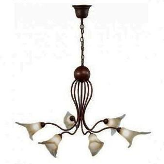 Candelabru rustic diametru 82cm Bianca 8780, PROMOTII, Corpuri de iluminat, lustre, aplice a
