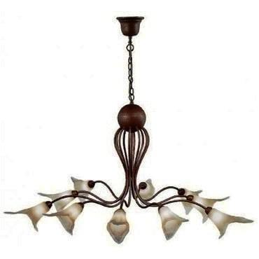 Candelabru rustic diametru 97cm Bianca 8781, PROMOTII, Corpuri de iluminat, lustre, aplice a