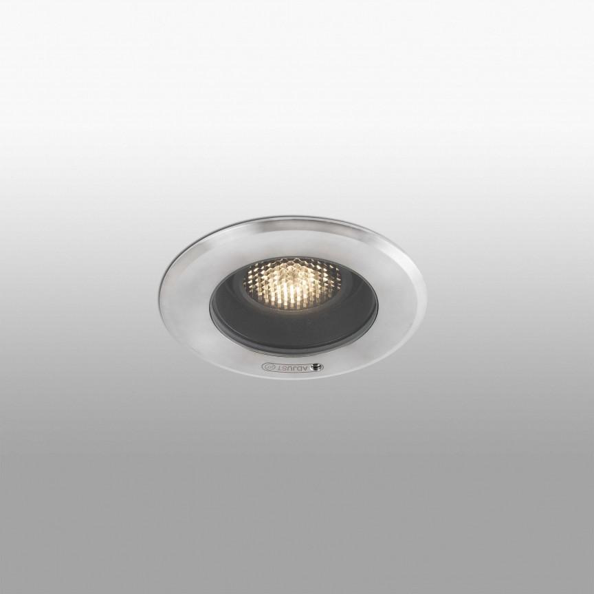 Spot orientabil incastrabil de exterior Ø13cm GEISER, Spoturi incastrate exterior , LED⭐ modele de tip spot potrivite pentru iluminare terasa, gradina, curte, casa. ✅ Design actual 2020!❤️Promotii lampi incastrate de exterior❗ ➽ www.evalight.ro. Alege oferte la corpuri de iluminat exterior incastrat rezistente la apa, directionabile cu lumina ambientala reglabila, montate in perete, tavan, ingropate in pavaj si pardoseala si pamant, scari si trepte beton, forme (rotunde si patrate,), ieftine de calitate la cel mai bun pret. a