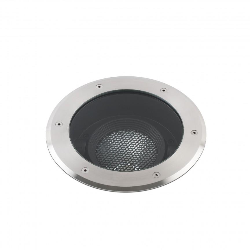 Spot LED orientabil / incastrabil de exterior pentru pavaj Ø26cm GEISER 32W / 10º, Spoturi incastrate exterior , LED⭐ modele de tip spot potrivite pentru iluminare terasa, gradina, curte, casa. ✅ Design actual 2020!❤️Promotii lampi incastrate de exterior❗ ➽ www.evalight.ro. Alege oferte la corpuri de iluminat exterior incastrat rezistente la apa, directionabile cu lumina ambientala reglabila, montate in perete, tavan, ingropate in pavaj si pardoseala si pamant, scari si trepte beton, forme (rotunde si patrate,), ieftine de calitate la cel mai bun pret. a