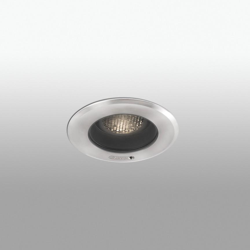 Spot LED orientabil / incastrabil de exterior Ø13cm GEISER 7W / 38º, Spoturi incastrate exterior , LED⭐ modele de tip spot potrivite pentru iluminare terasa, gradina, curte, casa. ✅ Design actual 2020!❤️Promotii lampi incastrate de exterior❗ ➽ www.evalight.ro. Alege oferte la corpuri de iluminat exterior incastrat rezistente la apa, directionabile cu lumina ambientala reglabila, montate in perete, tavan, ingropate in pavaj si pardoseala si pamant, scari si trepte beton, forme (rotunde si patrate,), ieftine de calitate la cel mai bun pret. a