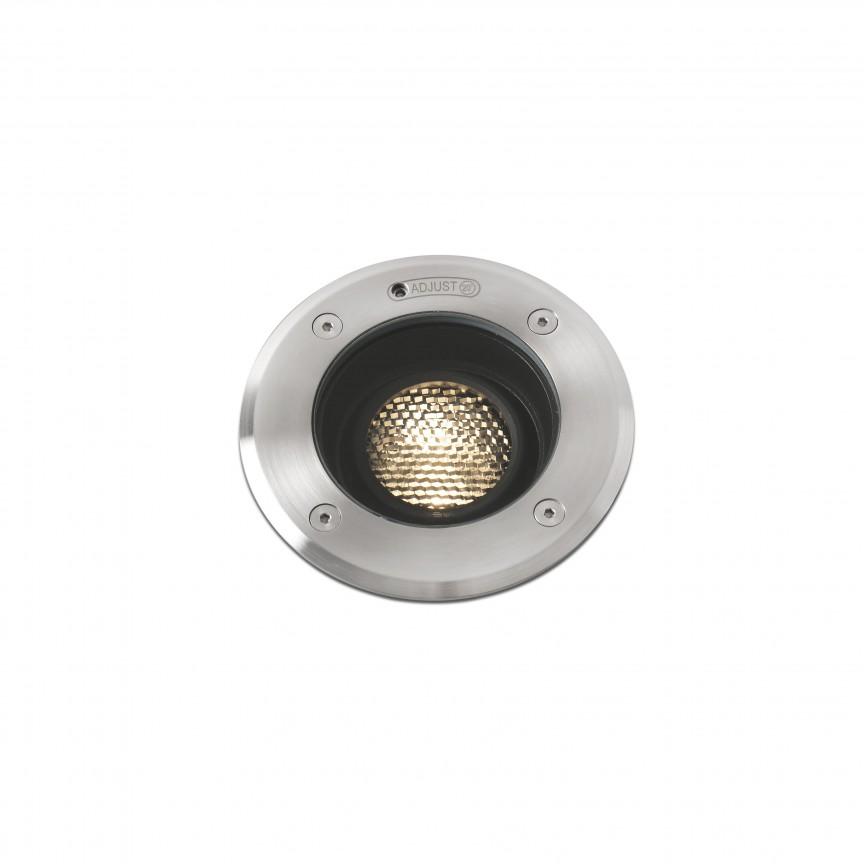 Spot LED orientabil / incastrabil de exterior pentru pavaj Ø13cm GEISER 7W / 38º, Spoturi incastrate exterior , LED⭐ modele de tip spot potrivite pentru iluminare terasa, gradina, curte, casa. ✅ Design actual 2020!❤️Promotii lampi incastrate de exterior❗ ➽ www.evalight.ro. Alege oferte la corpuri de iluminat exterior incastrat rezistente la apa, directionabile cu lumina ambientala reglabila, montate in perete, tavan, ingropate in pavaj si pardoseala si pamant, scari si trepte beton, forme (rotunde si patrate,), ieftine de calitate la cel mai bun pret. a