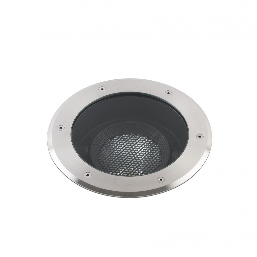 Spot LED orientabil / incastrabil de exterior pentru pavaj Ø13cm GEISER 32W / 38º, Spoturi incastrate exterior , LED⭐ modele de tip spot potrivite pentru iluminare terasa, gradina, curte, casa. ✅ Design actual 2020!❤️Promotii lampi incastrate de exterior❗ ➽ www.evalight.ro. Alege oferte la corpuri de iluminat exterior incastrat rezistente la apa, directionabile cu lumina ambientala reglabila, montate in perete, tavan, ingropate in pavaj si pardoseala si pamant, scari si trepte beton, forme (rotunde si patrate,), ieftine de calitate la cel mai bun pret. a