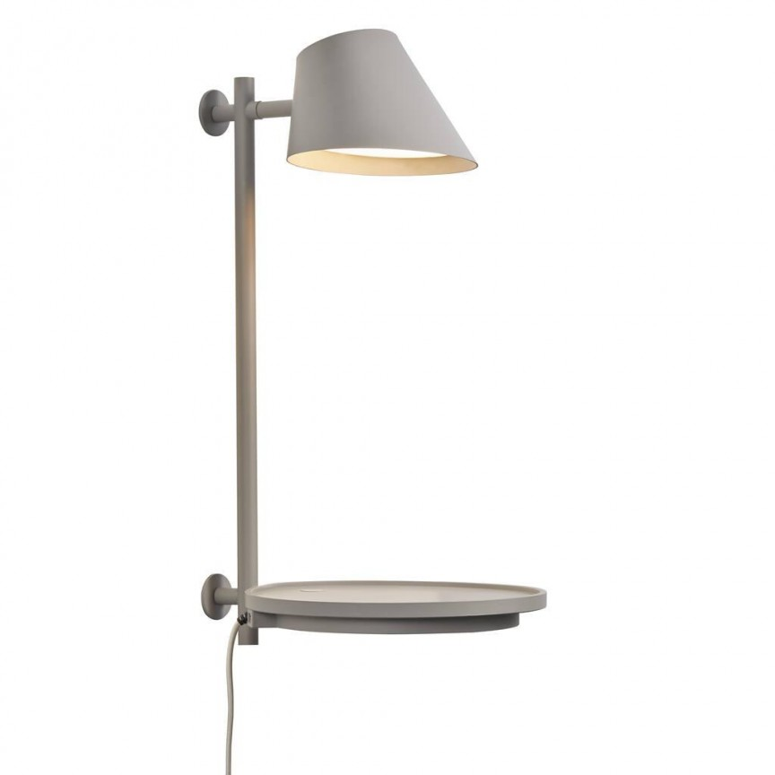 Lampa de perete LED multifunctionala Stay gri 48171010 DFTP, Aplice de perete LED, moderne⭐ modele potrivite pentru dormitor,living,baie,hol,bucatarie.✅Design premium actual Top 2020!❤️Promotii lampi❗ ➽ www.evalight.ro. Alege oferte la corpuri de iluminat cu LED pt tavan interior, (becuri cu leduri si module LED integrate cu lumina calda, naturala sau rece), ieftine si de lux, calitate deosebita la cel mai bun pret.  a