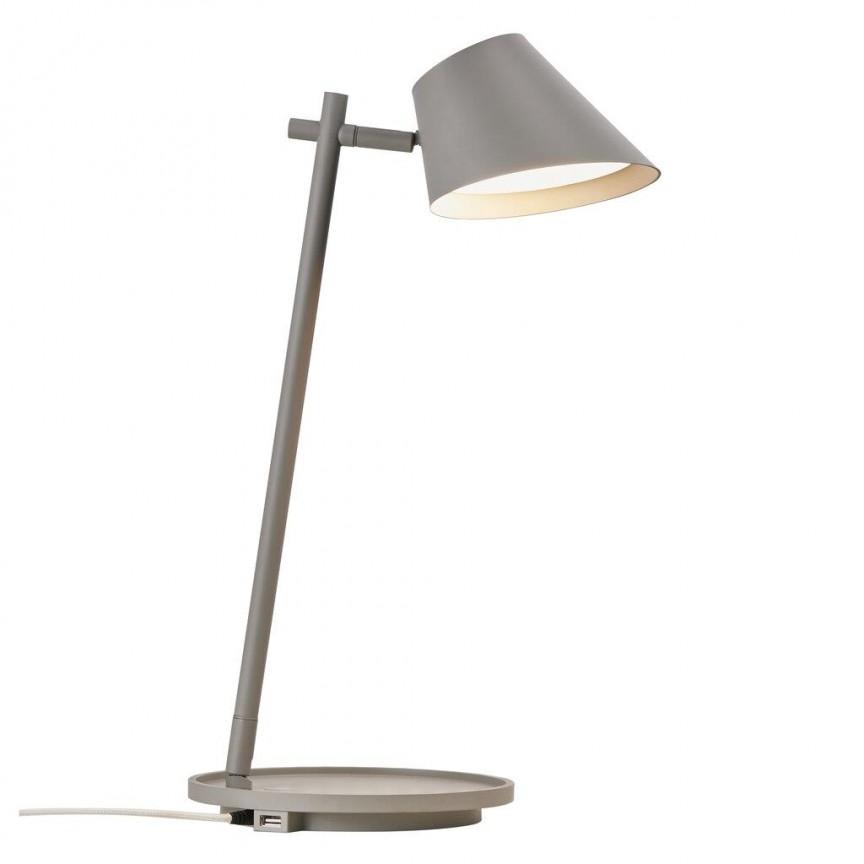 Lampa de masa LED multifunctionala Stay gri 48185010 DFTP, Veioze si Lampi LED de birou si masa cu LED⭐ modele elegante moderne pentru iluminat dormitor, living.✅Design decorativ 2021!❤️Promotii lampi❗ ➽ www.evalight.ro. Alege oferte la corpuri de iluminat interior cu picior inalt pentru noptiere pat, stil nordic scandinav, rustice, industriale, clasice cu cristale, baza ceramica, portelan, metal, cu picior tip trepied din lemn, abajur din material textil, sticla, tesatura, ieftine si de lux, calitate deosebita la cel mai bun pret. a