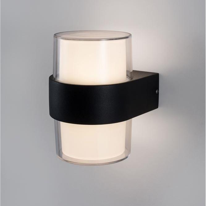 Aplica LED moderna de exterior cu iluminat ambiental Up & Down IP65 DARF II, Aplice de exterior moderne , LED⭐modele de lampi potrivite pentru iluminare perete casa, terasa, curte si gradina.✅Design premium actual Top 2020!❤️Promotii Aplice de perete exterior❗ ➽ www.evalight.ro. Alege oferte la corpuri de iluminat decorative rezistente la apa, cu lumina ambientala, (solare cu panou solar si senzori de miscare, becuri economice cu LED), ieftine si de lux, calitate deosebita la cel mai bun pret. a