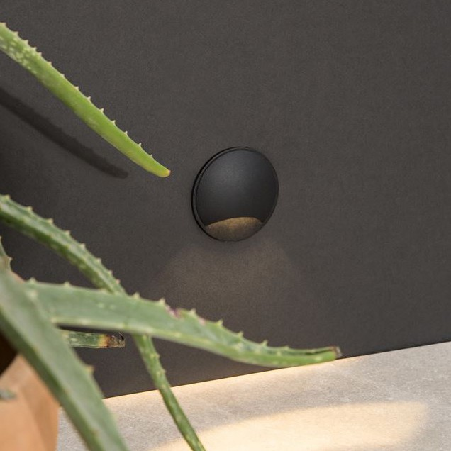 Mini Aplica LED ambientala / incastrabila de iluminat exterior IP65 JOYA I, Spoturi incastrate exterior , LED⭐ modele de tip spot potrivite pentru iluminare terasa, gradina, curte, casa. ✅ Design actual 2020!❤️Promotii lampi incastrate de exterior❗ ➽ www.evalight.ro. Alege oferte la corpuri de iluminat exterior incastrat rezistente la apa, directionabile cu lumina ambientala reglabila, montate in perete, tavan, ingropate in pavaj si pardoseala si pamant, scari si trepte beton, forme (rotunde si patrate,), ieftine de calitate la cel mai bun pret. a