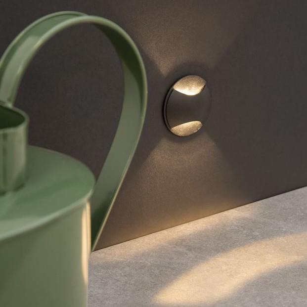 Mini Aplica LED ambientala / incastrabila de iluminat exterior IP65 JOYA II, Spoturi incastrate exterior , LED⭐ modele de tip spot potrivite pentru iluminare terasa, gradina, curte, casa. ✅ Design actual 2020!❤️Promotii lampi incastrate de exterior❗ ➽ www.evalight.ro. Alege oferte la corpuri de iluminat exterior incastrat rezistente la apa, directionabile cu lumina ambientala reglabila, montate in perete, tavan, ingropate in pavaj si pardoseala si pamant, scari si trepte beton, forme (rotunde si patrate,), ieftine de calitate la cel mai bun pret. a