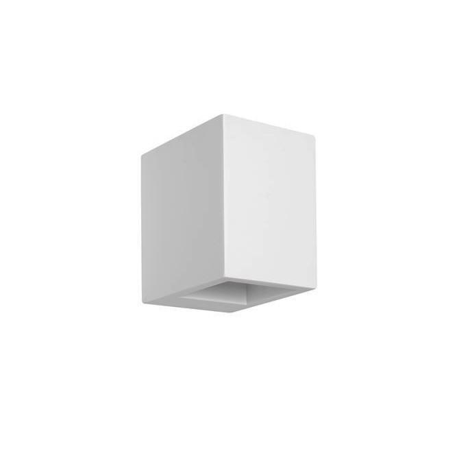 Aplica de perete LED cu iluminat ambiental gips alb SANDRO, Aplice de perete LED, moderne⭐ modele potrivite pentru dormitor,living,baie,hol,bucatarie.✅Design premium actual Top 2020!❤️Promotii lampi❗ ➽ www.evalight.ro. Alege oferte la corpuri de iluminat cu LED pt tavan interior, (becuri cu leduri si module LED integrate cu lumina calda, naturala sau rece), ieftine si de lux, calitate deosebita la cel mai bun pret.  a