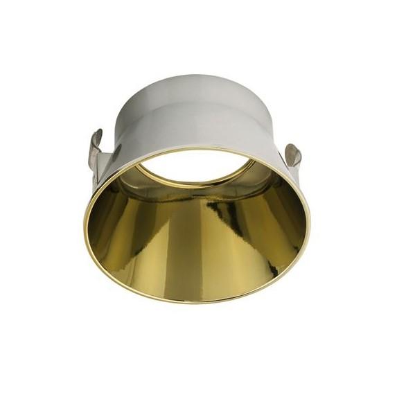 Inel decorativ / Reflector spoturi incastrate CRATE auriu, Accesorii Corpuri de iluminat piese de schimb pentru Lustre de interior si exterior.⭐Cumpara online✅ Livrare Rapida!❤️Promotii la accesorii pt lampi❗ Abajururi de rezerva si cabluri potrivite pentru candelabre, pendule suspendate, aplice de perete, plafoniere de tavan, spoturi LED incastrate si aplicate, veioze de masa si birou, lampadare de podea, drivere si conectori sina, dulii si transformatoare electrice. Alege oferte speciale la accesorile de iluminat din casa: baie, living, bucatarie, dormitor, terasa, hol, balcon si gradina❗ Cele mai bune componente de iluminat tehnic pt surse de iluminat, kituri de suspensie, benzi LED, brate, elemente decorative cristal si farfurioare din material (ceramica, sticla, plastic, aluminiu, tesatura, textil, metal, lemn), proiectoare si reflectoare pt spot-uri reglabile cu flux luminos directionabil, ieftine si de lux, cu garantie si de calitate deosebita. Cumpara la comanda sau din stoc, oferte si reduceri speciale cu vanzare rapida din magazine la cele mai bune preturi. Te aşteptăm sa admiri calitatea superioara a produselor noastre live în showroom-urile noastre din Bucuresti si Timisoara❗ a
