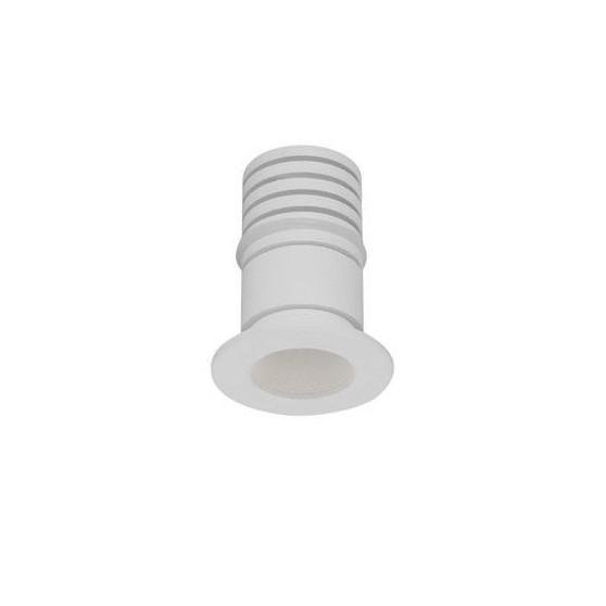 Mini Spot LED incastrabil tavan fals / plafon pentru baie IP44 TINY alb, Spoturi LED incastrabile / aplicate, tavan / perete⭐ modele moderne potrivite pentru baie, mobilier bucătărie, hol, living si dormitor.✅ Design actual 2020!❤️Promotii lampi LED❗ ➽ www.evalight.ro. Alege oferte la corpuri de iluminat interior cu LED de tip incastrat cu montare in tavanul fals rigips, (rotunde si patrate), becuri cu leduri, ieftine si de lux, calitate deosebita la cel mai bun pret. a