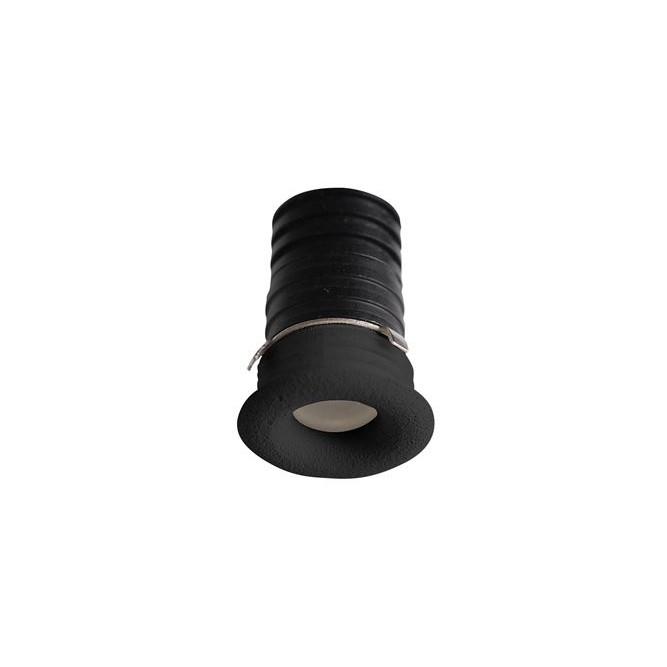 Mini Spot LED incastrabil tavan fals / plafon pentru baie IP44 TINY negru, Spoturi LED incastrabile / aplicate, tavan / perete⭐ modele moderne potrivite pentru baie, mobilier bucătărie, hol, living si dormitor.✅ Design actual 2020!❤️Promotii lampi LED❗ ➽ www.evalight.ro. Alege oferte la corpuri de iluminat interior cu LED de tip incastrat cu montare in tavanul fals rigips, (rotunde si patrate), becuri cu leduri, ieftine si de lux, calitate deosebita la cel mai bun pret. a