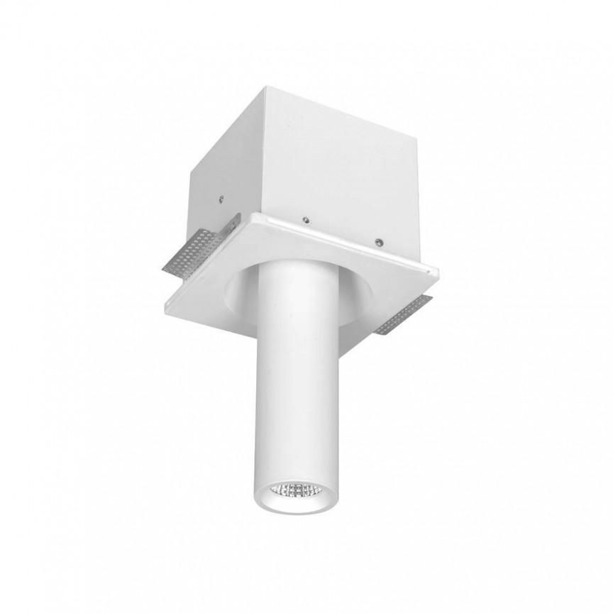 Spot ajustabil design modern incastrabil GIACOMO alb H-28cm, Spoturi incastrate / aplicate / spatii comerciale pentru tavan si perete⭐solutii de corpuri iluminat LED profesionale✅ modele de lampi moderne si economice potrivite pentru iluminat interior si exterior! ❤️Promotii la Spoturi LED incastrate / aplicate❗ ➽ www.evalight.ro.✅Design premium actual Top 2021! Alege solutii tehnice adecvate cu tip de montaj in tavan (incastrabile) sau aplicate pe perete (aparente), destinate in special pentru corpuri de iluminat cu concept HoReCa: hoteluri, restaurante si cafenele. Colectie de ambiente pentru inspiratie in alegerea surselor de iluminat arhitectural si decorativ, sisteme electrice cu linii de spoturi LED, proiectoare si reflectoare cu flux luminos directionabil (reglabile), pt fiecare proiect de iluminat: solutia tehnica ideala pentru iluminatul de detaliu sau de efect al magazinelor specializate, spatii comerciale, cladiri office de birouri, cu garantie si de calitate superioara la cel mai bun pret❗ a