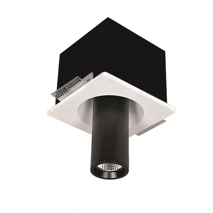 Spot ajustabil design modern incastrabil GIACOMO alb/negru H-18,3cm, Spoturi incastrate / aplicate / spatii comerciale, pentru tavan si perete⭐solutii de corpuri iluminat LED profesionale✅ modele de lampi moderne si economice potrivite pentru iluminat interior si exterior! ❤️Promotii la Spoturi LED incastrate / aplicate❗ ➽ www.evalight.ro.✅Design premium actual Top 2020! Alege solutii tehnice adecvate cu tip de montaj in tavan (incastrabile) sau aplicate pe perete (aparente), destinate in special pentru corpuri de iluminat cu concept HoReCa: hoteluri, restaurante si cafenele. Colectie de ambiente pentru inspiratie in alegerea surselor de iluminat arhitectural si decorativ, sisteme electrice cu linii de spoturi LED, proiectoare si reflectoare cu flux luminos directionabil (reglabile), pt fiecare proiect de iluminat: solutia tehnica ideala pentru iluminatul de detaliu sau de efect al magazinelor specializate, spatii comerciale, cladiri office de birouri, cu garantie si de calitate superioara la cel mai bun pret❗ a