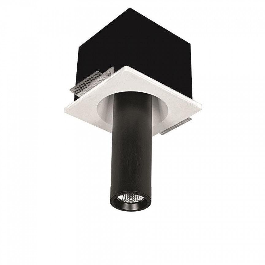 Spot ajustabil design modern incastrabil GIACOMO alb/negru H-28cm, Spoturi incastrate / aplicate / spatii comerciale pentru tavan si perete⭐solutii de corpuri iluminat LED profesionale✅ modele de lampi moderne si economice potrivite pentru iluminat interior si exterior! ❤️Promotii la Spoturi LED incastrate / aplicate❗ ➽ www.evalight.ro.✅Design premium actual Top 2021! Alege solutii tehnice adecvate cu tip de montaj in tavan (incastrabile) sau aplicate pe perete (aparente), destinate in special pentru corpuri de iluminat cu concept HoReCa: hoteluri, restaurante si cafenele. Colectie de ambiente pentru inspiratie in alegerea surselor de iluminat arhitectural si decorativ, sisteme electrice cu linii de spoturi LED, proiectoare si reflectoare cu flux luminos directionabil (reglabile), pt fiecare proiect de iluminat: solutia tehnica ideala pentru iluminatul de detaliu sau de efect al magazinelor specializate, spatii comerciale, cladiri office de birouri, cu garantie si de calitate superioara la cel mai bun pret❗ a