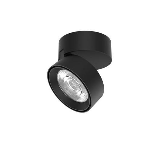 Spot LED aplicat ajustabil perete/tavan UNIVERSAL negru, Spoturi LED incastrabile / aplicate, tavan / perete⭐ modele moderne potrivite pentru baie, mobilier bucătărie, hol, living si dormitor.✅ Design actual 2020!❤️Promotii lampi LED❗ ➽ www.evalight.ro. Alege oferte la corpuri de iluminat interior cu LED de tip incastrat cu montare in tavanul fals rigips, (rotunde si patrate), becuri cu leduri, ieftine si de lux, calitate deosebita la cel mai bun pret. a