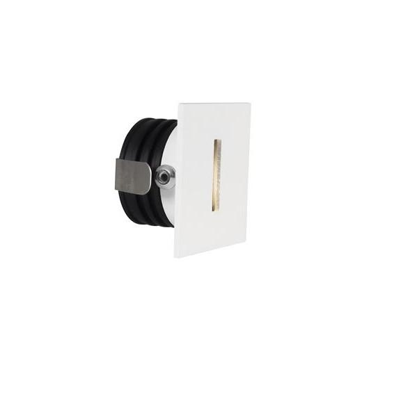 Spot LED incastrabil pentru scari IP67 PASSAGGIO alb, Spoturi LED incastrabile / aplicate, tavan / perete⭐ modele moderne potrivite pentru baie, mobilier bucătărie, hol, living si dormitor.✅ Design actual 2020!❤️Promotii lampi LED❗ ➽ www.evalight.ro. Alege oferte la corpuri de iluminat interior cu LED de tip incastrat cu montare in tavanul fals rigips, (rotunde si patrate), becuri cu leduri, ieftine si de lux, calitate deosebita la cel mai bun pret. a