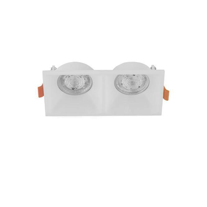 Spot dublu incastrabil tavan fals / plafon STAF alb, Cele mai noi produse 2020 a