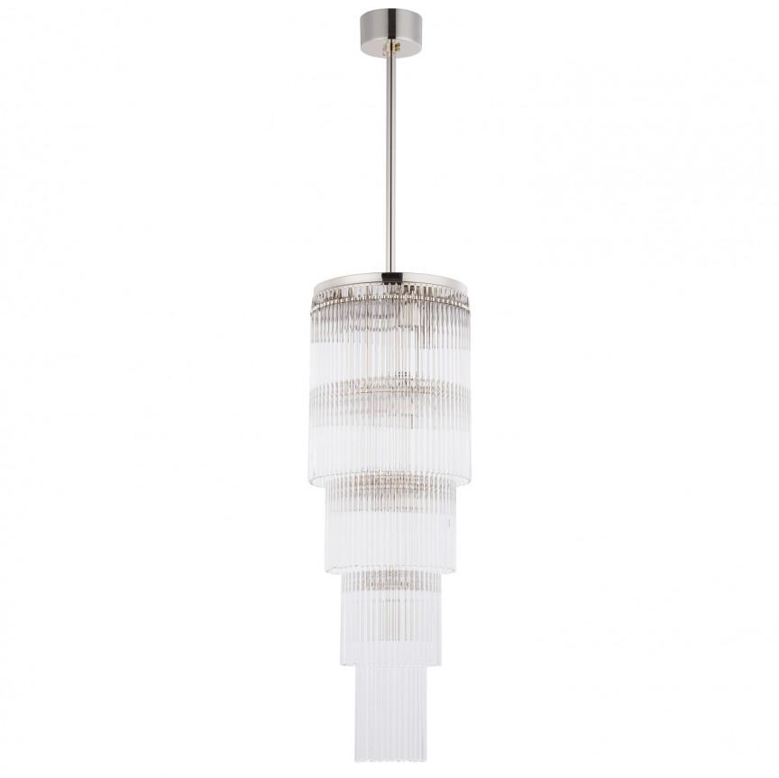 Lustra design LUX diametru 25cm din alama decorata cu sticla Filago, Cele mai noi produse 2020 a