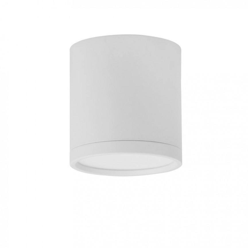 Spot LED aplicat tavan / plafon design modern minimalist GARF alb, Spoturi LED incastrabile / aplicate, tavan / perete⭐ modele moderne potrivite pentru baie, mobilier bucătărie, hol, living si dormitor.✅ Design actual 2020!❤️Promotii lampi LED❗ ➽ www.evalight.ro. Alege oferte la corpuri de iluminat interior cu LED de tip incastrat cu montare in tavanul fals rigips, (rotunde si patrate), becuri cu leduri, ieftine si de lux, calitate deosebita la cel mai bun pret. a
