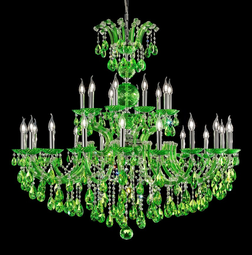 Lustra cu 30 brate Cristal Asfour MARIA THERESA, Lustre Cristal Asfour 30% PBO⭐ modele de candelabre mari XXL stil Imperial din cristal Asfour autentic❗ ✅Design Baroc unicat Premium Top 2021!❤️Promotii Lustre High Quality Crystal