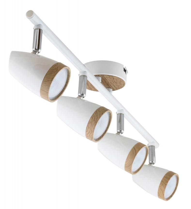 Lustra aplicata cu 4 spoturi LED Karen 5567 RX, Plafoniere LED / Spoturi LED , moderne⭐ modele potrivite pentru dormitor, living, bucatarie, baie, hol.✅Design premium actual Top 2020!❤️Promotii lampi❗ ➽ www.evalight.ro. Alege oferte la corpuri de iluminat cu LED interior pt tavan sau perete (rotunde si patrate), office si birou, (becuri cu leduri si module LED integrate cu lumina calda, naturala sau rece), ieftine si de lux, calitate deosebita la cel mai bun pret.  a