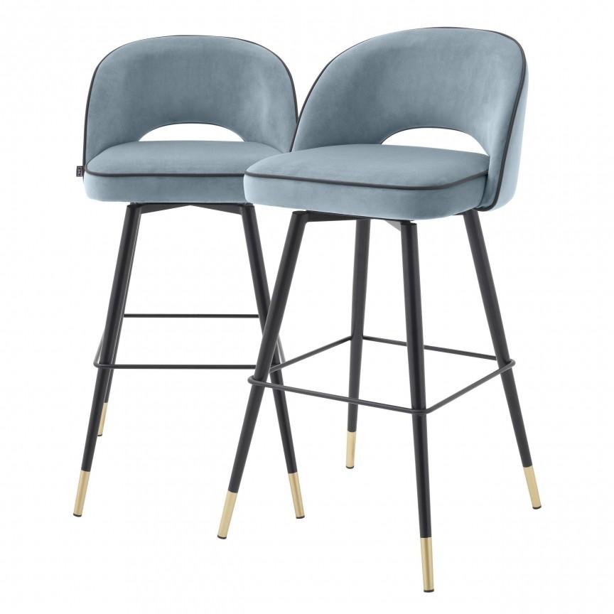 Set de 2 scaune de bar design modern Cliff, albastru 114316 HZ, Mobila si Decoratiuni , interioare moderne de lux⭐ piese de mobilier modern cu stil exclusivist pentru casa✅ colectii dormitor si living.❤️Promotii la mobila si decoratiuni❗ Intra si vezi modele ✚ poze ✚ pret ➽ www.evalight.ro. ➽ sursa ta de inspiratie online❗ Idei si tendinte de design actual pentru amenajari premium Top 2020❗ Mobila moderna unicat cu stil elegant contemporan ultra-modern, accesorii si oglinzi decorative de perete potrivite pentru interior si exterior. Cele mai noi si apreciate stiluri la mobila si mobilier cu design original: stil industrial style, retro, vintage (boem, veche, reconditionata, realizata manual (noua nu second hand), handmade, sculptata, scandinav (nordic), clasic (baroc, glamour, romantic, art deco, boho, shabby chic, feng shui), rustic (traditional), urban minimalist. Alege cele mai frumoase si rafinate articole si obiecte decorative deosebite, textile si tesaturi scumpe, vezi seturi de mobilier modular pe colt pt spatii mici si mari, cu picioare din metal combinat cu lemn masiv, placata cu oglinda si sticla, MDF lucios de culoare alba, . ✅Amenajari interioare 2020❗   Living   Dormitor   Hol   Baie   Bucatarie   Sufragerie   Camera de zi / Tineret / Copii   Birou   Balcon   Terasa   Gradina   Cumpara la comanda sau din stoc, oferte si reduceri speciale cu vanzare rapida din magazine la cele mai bune preturi. Te aşteptăm sa admiri calitatea superioara a produselor noastre live în showroom-urile noastre din Bucuresti si Timisoara❗  a