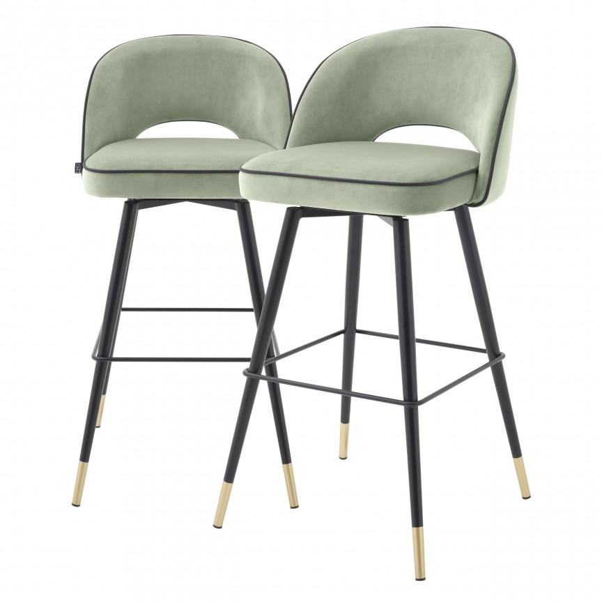 Set de 2 scaune de bar design modern Cliff, verde 114314 HZ, Mobila si Decoratiuni , interioare moderne de lux⭐ piese de mobilier modern cu stil exclusivist pentru casa✅ colectii dormitor si living.❤️Promotii la mobila si decoratiuni❗ Intra si vezi modele ✚ poze ✚ pret ➽ www.evalight.ro. ➽ sursa ta de inspiratie online❗ Idei si tendinte de design actual pentru amenajari premium Top 2020❗ Mobila moderna unicat cu stil elegant contemporan ultra-modern, accesorii si oglinzi decorative de perete potrivite pentru interior si exterior. Cele mai noi si apreciate stiluri la mobila si mobilier cu design original: stil industrial style, retro, vintage (boem, veche, reconditionata, realizata manual (noua nu second hand), handmade, sculptata, scandinav (nordic), clasic (baroc, glamour, romantic, art deco, boho, shabby chic, feng shui), rustic (traditional), urban minimalist. Alege cele mai frumoase si rafinate articole si obiecte decorative deosebite, textile si tesaturi scumpe, vezi seturi de mobilier modular pe colt pt spatii mici si mari, cu picioare din metal combinat cu lemn masiv, placata cu oglinda si sticla, MDF lucios de culoare alba, . ✅Amenajari interioare 2020❗   Living   Dormitor   Hol   Baie   Bucatarie   Sufragerie   Camera de zi / Tineret / Copii   Birou   Balcon   Terasa   Gradina   Cumpara la comanda sau din stoc, oferte si reduceri speciale cu vanzare rapida din magazine la cele mai bune preturi. Te aşteptăm sa admiri calitatea superioara a produselor noastre live în showroom-urile noastre din Bucuresti si Timisoara❗  a
