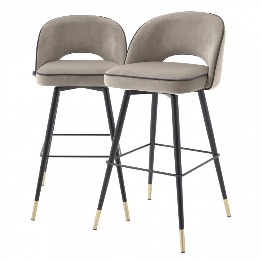 Set de 2 scaune de bar design modern Cliff, greige 113711 HZ, Mobila si Decoratiuni , interioare moderne de lux⭐ piese de mobilier modern cu stil exclusivist pentru casa✅ colectii dormitor si living.❤️Promotii la mobila si decoratiuni❗ Intra si vezi modele ✚ poze ✚ pret ➽ www.evalight.ro. ➽ sursa ta de inspiratie online❗ Idei si tendinte de design actual pentru amenajari premium Top 2020❗ Mobila moderna unicat cu stil elegant contemporan ultra-modern, accesorii si oglinzi decorative de perete potrivite pentru interior si exterior. Cele mai noi si apreciate stiluri la mobila si mobilier cu design original: stil industrial style, retro, vintage (boem, veche, reconditionata, realizata manual (noua nu second hand), handmade, sculptata, scandinav (nordic), clasic (baroc, glamour, romantic, art deco, boho, shabby chic, feng shui), rustic (traditional), urban minimalist. Alege cele mai frumoase si rafinate articole si obiecte decorative deosebite, textile si tesaturi scumpe, vezi seturi de mobilier modular pe colt pt spatii mici si mari, cu picioare din metal combinat cu lemn masiv, placata cu oglinda si sticla, MDF lucios de culoare alba, . ✅Amenajari interioare 2020❗   Living   Dormitor   Hol   Baie   Bucatarie   Sufragerie   Camera de zi / Tineret / Copii   Birou   Balcon   Terasa   Gradina   Cumpara la comanda sau din stoc, oferte si reduceri speciale cu vanzare rapida din magazine la cele mai bune preturi. Te aşteptăm sa admiri calitatea superioara a produselor noastre live în showroom-urile noastre din Bucuresti si Timisoara❗  a