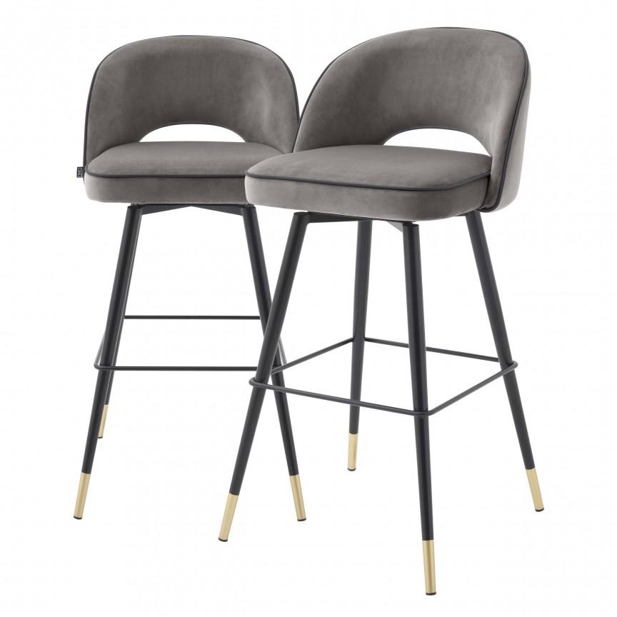 Set de 2 scaune de bar design modern Cliff, gri 114317 HZ, Mobila si Decoratiuni , interioare moderne de lux⭐ piese de mobilier modern cu stil exclusivist pentru casa✅ colectii dormitor si living.❤️Promotii la mobila si decoratiuni❗ Intra si vezi modele ✚ poze ✚ pret ➽ www.evalight.ro. ➽ sursa ta de inspiratie online❗ Idei si tendinte de design actual pentru amenajari premium Top 2020❗ Mobila moderna unicat cu stil elegant contemporan ultra-modern, accesorii si oglinzi decorative de perete potrivite pentru interior si exterior. Cele mai noi si apreciate stiluri la mobila si mobilier cu design original: stil industrial style, retro, vintage (boem, veche, reconditionata, realizata manual (noua nu second hand), handmade, sculptata, scandinav (nordic), clasic (baroc, glamour, romantic, art deco, boho, shabby chic, feng shui), rustic (traditional), urban minimalist. Alege cele mai frumoase si rafinate articole si obiecte decorative deosebite, textile si tesaturi scumpe, vezi seturi de mobilier modular pe colt pt spatii mici si mari, cu picioare din metal combinat cu lemn masiv, placata cu oglinda si sticla, MDF lucios de culoare alba, . ✅Amenajari interioare 2020❗   Living   Dormitor   Hol   Baie   Bucatarie   Sufragerie   Camera de zi / Tineret / Copii   Birou   Balcon   Terasa   Gradina   Cumpara la comanda sau din stoc, oferte si reduceri speciale cu vanzare rapida din magazine la cele mai bune preturi. Te aşteptăm sa admiri calitatea superioara a produselor noastre live în showroom-urile noastre din Bucuresti si Timisoara❗  a