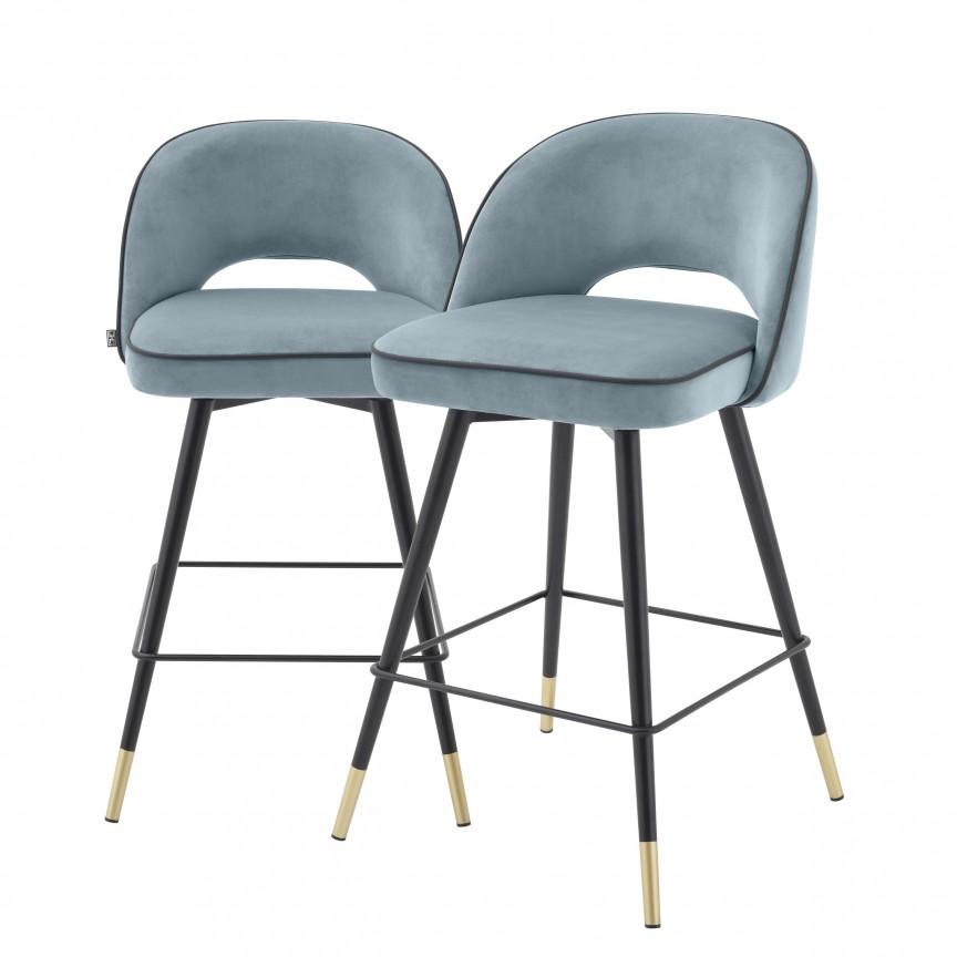 Set de 2 scaune de bar design modern Cliff, H-92,5cm albastru 114323 HZ, Mobila si Decoratiuni , interioare moderne de lux⭐ piese de mobilier modern cu stil exclusivist pentru casa✅ colectii dormitor si living.❤️Promotii la mobila si decoratiuni❗ Intra si vezi modele ✚ poze ✚ pret ➽ www.evalight.ro. ➽ sursa ta de inspiratie online❗ Idei si tendinte de design actual pentru amenajari premium Top 2020❗ Mobila moderna unicat cu stil elegant contemporan ultra-modern, accesorii si oglinzi decorative de perete potrivite pentru interior si exterior. Cele mai noi si apreciate stiluri la mobila si mobilier cu design original: stil industrial style, retro, vintage (boem, veche, reconditionata, realizata manual (noua nu second hand), handmade, sculptata, scandinav (nordic), clasic (baroc, glamour, romantic, art deco, boho, shabby chic, feng shui), rustic (traditional), urban minimalist. Alege cele mai frumoase si rafinate articole si obiecte decorative deosebite, textile si tesaturi scumpe, vezi seturi de mobilier modular pe colt pt spatii mici si mari, cu picioare din metal combinat cu lemn masiv, placata cu oglinda si sticla, MDF lucios de culoare alba, . ✅Amenajari interioare 2020❗   Living   Dormitor   Hol   Baie   Bucatarie   Sufragerie   Camera de zi / Tineret / Copii   Birou   Balcon   Terasa   Gradina   Cumpara la comanda sau din stoc, oferte si reduceri speciale cu vanzare rapida din magazine la cele mai bune preturi. Te aşteptăm sa admiri calitatea superioara a produselor noastre live în showroom-urile noastre din Bucuresti si Timisoara❗  a
