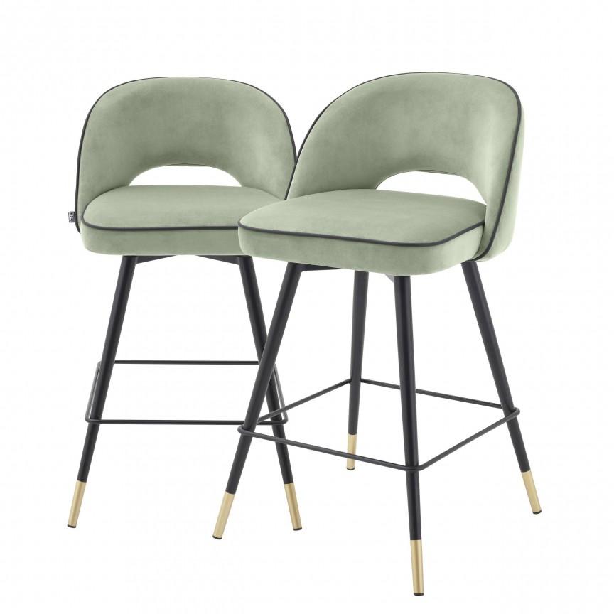 Set de 2 scaune de bar design modern Cliff, H-92,5cm verde 114321 HZ, Mobila si Decoratiuni , interioare moderne de lux⭐ piese de mobilier modern cu stil exclusivist pentru casa✅ colectii dormitor si living.❤️Promotii la mobila si decoratiuni❗ Intra si vezi modele ✚ poze ✚ pret ➽ www.evalight.ro. ➽ sursa ta de inspiratie online❗ Idei si tendinte de design actual pentru amenajari premium Top 2020❗ Mobila moderna unicat cu stil elegant contemporan ultra-modern, accesorii si oglinzi decorative de perete potrivite pentru interior si exterior. Cele mai noi si apreciate stiluri la mobila si mobilier cu design original: stil industrial style, retro, vintage (boem, veche, reconditionata, realizata manual (noua nu second hand), handmade, sculptata, scandinav (nordic), clasic (baroc, glamour, romantic, art deco, boho, shabby chic, feng shui), rustic (traditional), urban minimalist. Alege cele mai frumoase si rafinate articole si obiecte decorative deosebite, textile si tesaturi scumpe, vezi seturi de mobilier modular pe colt pt spatii mici si mari, cu picioare din metal combinat cu lemn masiv, placata cu oglinda si sticla, MDF lucios de culoare alba, . ✅Amenajari interioare 2020❗   Living   Dormitor   Hol   Baie   Bucatarie   Sufragerie   Camera de zi / Tineret / Copii   Birou   Balcon   Terasa   Gradina   Cumpara la comanda sau din stoc, oferte si reduceri speciale cu vanzare rapida din magazine la cele mai bune preturi. Te aşteptăm sa admiri calitatea superioara a produselor noastre live în showroom-urile noastre din Bucuresti si Timisoara❗  a