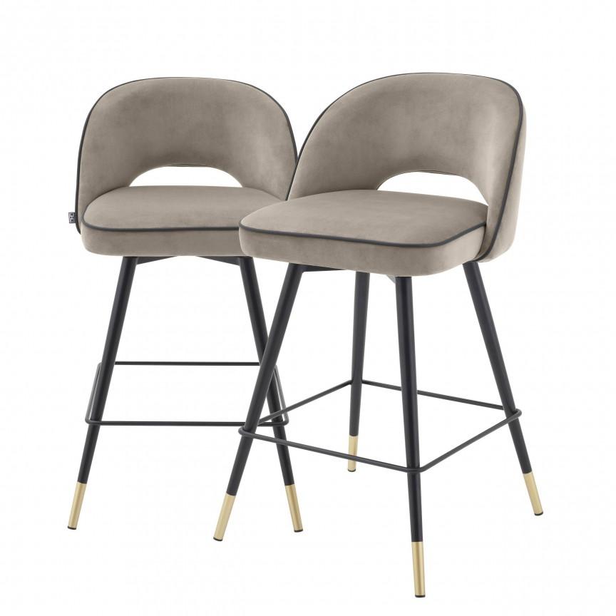 Set de 2 scaune de bar design modern Cliff, H-92,5cm greige 113712 HZ, Mobila si Decoratiuni , interioare moderne de lux⭐ piese de mobilier modern cu stil exclusivist pentru casa✅ colectii dormitor si living.❤️Promotii la mobila si decoratiuni❗ Intra si vezi modele ✚ poze ✚ pret ➽ www.evalight.ro. ➽ sursa ta de inspiratie online❗ Idei si tendinte de design actual pentru amenajari premium Top 2020❗ Mobila moderna unicat cu stil elegant contemporan ultra-modern, accesorii si oglinzi decorative de perete potrivite pentru interior si exterior. Cele mai noi si apreciate stiluri la mobila si mobilier cu design original: stil industrial style, retro, vintage (boem, veche, reconditionata, realizata manual (noua nu second hand), handmade, sculptata, scandinav (nordic), clasic (baroc, glamour, romantic, art deco, boho, shabby chic, feng shui), rustic (traditional), urban minimalist. Alege cele mai frumoase si rafinate articole si obiecte decorative deosebite, textile si tesaturi scumpe, vezi seturi de mobilier modular pe colt pt spatii mici si mari, cu picioare din metal combinat cu lemn masiv, placata cu oglinda si sticla, MDF lucios de culoare alba, . ✅Amenajari interioare 2020❗   Living   Dormitor   Hol   Baie   Bucatarie   Sufragerie   Camera de zi / Tineret / Copii   Birou   Balcon   Terasa   Gradina   Cumpara la comanda sau din stoc, oferte si reduceri speciale cu vanzare rapida din magazine la cele mai bune preturi. Te aşteptăm sa admiri calitatea superioara a produselor noastre live în showroom-urile noastre din Bucuresti si Timisoara❗  a