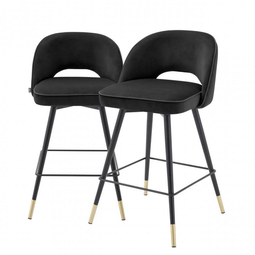 Set de 2 scaune de bar design modern Cliff, H-92,5cm negru 114575 HZ, Mobila si Decoratiuni , interioare moderne de lux⭐ piese de mobilier modern cu stil exclusivist pentru casa✅ colectii dormitor si living.❤️Promotii la mobila si decoratiuni❗ Intra si vezi modele ✚ poze ✚ pret ➽ www.evalight.ro. ➽ sursa ta de inspiratie online❗ Idei si tendinte de design actual pentru amenajari premium Top 2020❗ Mobila moderna unicat cu stil elegant contemporan ultra-modern, accesorii si oglinzi decorative de perete potrivite pentru interior si exterior. Cele mai noi si apreciate stiluri la mobila si mobilier cu design original: stil industrial style, retro, vintage (boem, veche, reconditionata, realizata manual (noua nu second hand), handmade, sculptata, scandinav (nordic), clasic (baroc, glamour, romantic, art deco, boho, shabby chic, feng shui), rustic (traditional), urban minimalist. Alege cele mai frumoase si rafinate articole si obiecte decorative deosebite, textile si tesaturi scumpe, vezi seturi de mobilier modular pe colt pt spatii mici si mari, cu picioare din metal combinat cu lemn masiv, placata cu oglinda si sticla, MDF lucios de culoare alba, . ✅Amenajari interioare 2020❗   Living   Dormitor   Hol   Baie   Bucatarie   Sufragerie   Camera de zi / Tineret / Copii   Birou   Balcon   Terasa   Gradina   Cumpara la comanda sau din stoc, oferte si reduceri speciale cu vanzare rapida din magazine la cele mai bune preturi. Te aşteptăm sa admiri calitatea superioara a produselor noastre live în showroom-urile noastre din Bucuresti si Timisoara❗  a