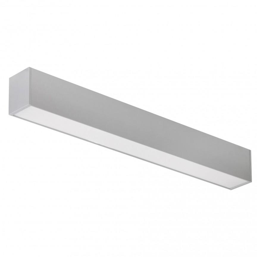 Lustra liniara 2 in 1, aplicata sau suspendata, Joshua 61,4cm 2419 RX, Plafoniere LED / Spoturi LED , moderne⭐ modele potrivite pentru dormitor, living, bucatarie, baie, hol.✅Design premium actual Top 2020!❤️Promotii lampi❗ ➽ www.evalight.ro. Alege oferte la corpuri de iluminat cu LED interior pt tavan sau perete (rotunde si patrate), office si birou, (becuri cu leduri si module LED integrate cu lumina calda, naturala sau rece), ieftine si de lux, calitate deosebita la cel mai bun pret.  a