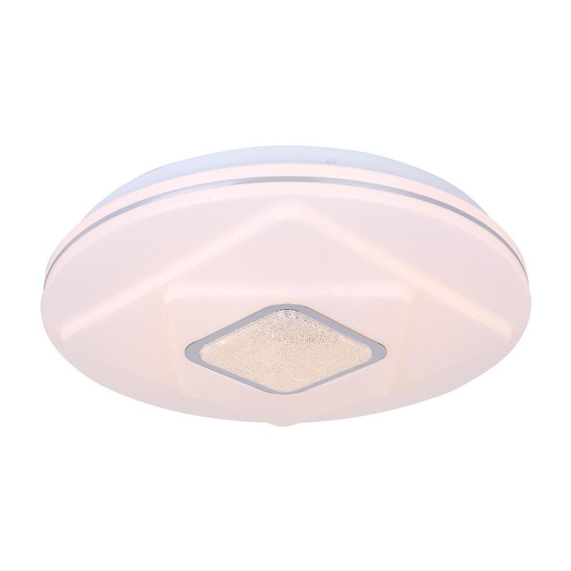 Plafoniera LED diametru 38cm TOSSI 48399-24 GL, Plafoniere LED / Spoturi LED , moderne⭐ modele potrivite pentru dormitor, living, bucatarie, baie, hol.✅Design premium actual Top 2020!❤️Promotii lampi❗ ➽ www.evalight.ro. Alege oferte la corpuri de iluminat cu LED interior pt tavan sau perete (rotunde si patrate), office si birou, (becuri cu leduri si module LED integrate cu lumina calda, naturala sau rece), ieftine si de lux, calitate deosebita la cel mai bun pret.  a