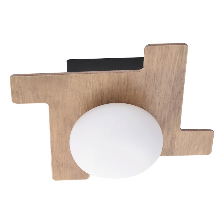 Aplica de perete design scandinav nordic NORWOOD maro fag 6917 RX, Aplice aplicate perete sau tavan cu spot, LED⭐ modele moderne corpuri de iluminat tip spot-uri pe bara.✅Design decorativ 2021!❤️Promotii lampi❗ ➽ www.evalight.ro. Alege oferte aplice de iluminat interior, lustre si plafoniere cu 1 spot cu lumina LED si directie reglabila, spot orientabil cu intrerupator, simple si ieftine de calitate la cel mai bun pret. a