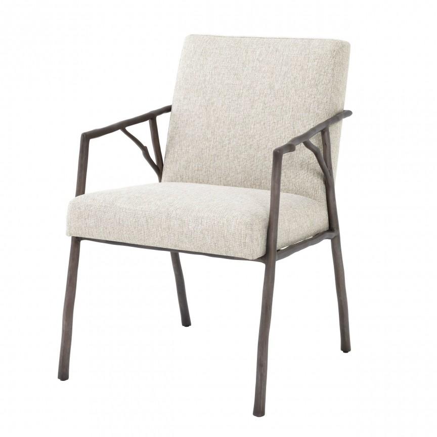 Scaun elegant design LUX Antico, bronz 114230 HZ, Magazin,  a