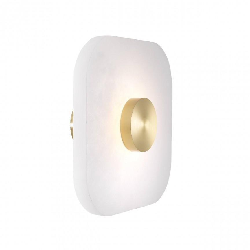 Aplica design LUX Nomad square S 28x28cm 114326 HZ, Magazin,  a