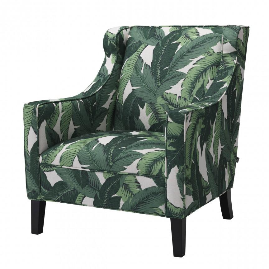 Fotoliu design elegant LUX Jenner, verde 114363 HZ, Magazin,  a
