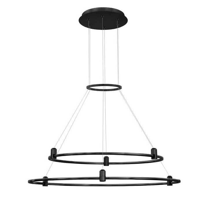 Sistem circular magnetic-decorativ DION D-80cm, negru NVL-9028922, Magazin,  a