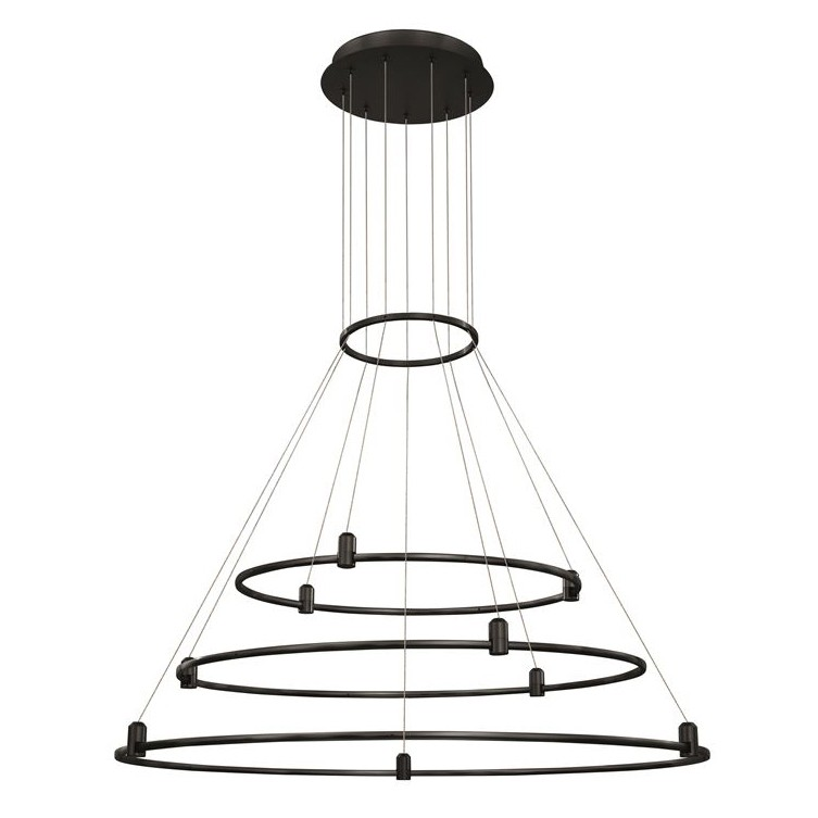 Sistem circular magnetic-decorativ DION D-100cm, negru NVL-9028923, Magazin,  a