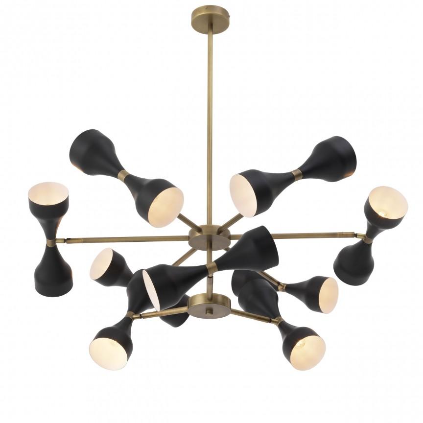 Lustra design elegant LUX Cordero alama-negru 113329 HZ, Magazin,  a