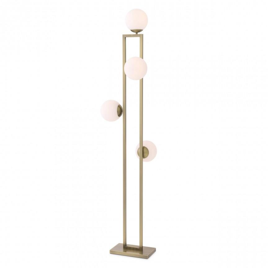 Lampadar/ Lampa de podea design modern LUX Pascal, alama 114688 HZ, Magazin,  a