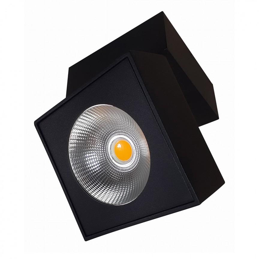 Aplica perete sau tavan cu spot LED directionabil ARTU negru C0191 MX, Spoturi LED incastrabile / aplicate, tavan / perete⭐ modele moderne potrivite pentru baie, mobilier bucătărie, hol, living si dormitor.✅ Design actual 2020!❤️Promotii lampi LED❗ ➽ www.evalight.ro. Alege oferte la corpuri de iluminat interior cu LED de tip incastrat cu montare in tavanul fals rigips, (rotunde si patrate), becuri cu leduri, ieftine si de lux, calitate deosebita la cel mai bun pret. a