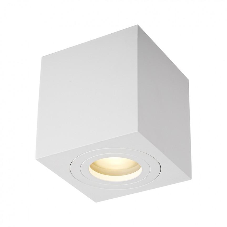 Spot aplicat cu protectie umiditate IP44 QUARDIP SL alb ACGU10-160 ZL, Plafoniere cu protectie pentru baie, LED⭐ modele moderne de lux potrivite în baie. ✅Design premium actual Top 2020! ❤️Promotii lampi❗ ➽ www.evalight.ro. Corpuri de iluminat baie pt interior de tip lustre si spoturi aplicate sau incastrate, (tavan fals rigips, oglinda), cu led-uri si lumini puternice, rotunde si patrate, rezistente la apa (umiditate), ieftine de calitate deosebita la cel mai bun pret! a