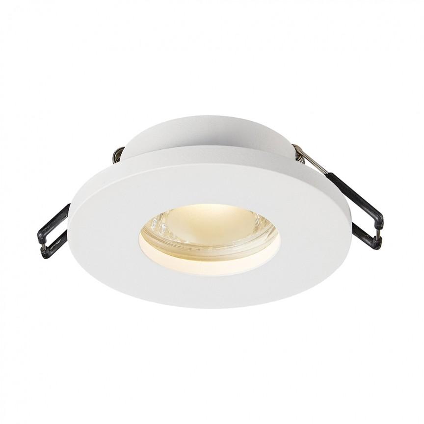 Spot incastrabil cu protectie umiditate IP54 CHIPA DL alb ARGU10-033 ZL, Spoturi incastrate tavan / perete, LED⭐ modele moderne potrivite pentru baie, mobila bucătărie, hol, living si dormitor.✅ Design actual 2020!❤️Promotii lampi❗ ➽ www.evalight.ro. Alege oferte la corpuri de iluminat interior incastrat cu montare in tavanul fals rigips, (rotunde si patrate), ieftine de calitate la cel mai bun pret. a