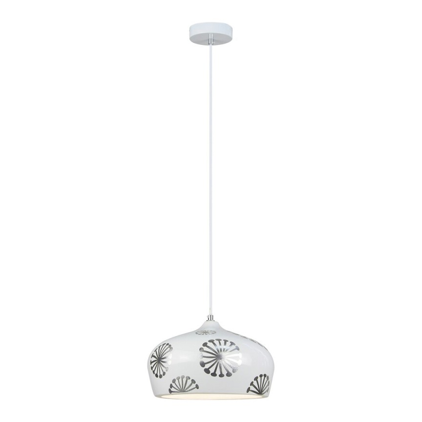 Pendul design modern GINGER argintiu/alb 6049 RX, Magazin,  a
