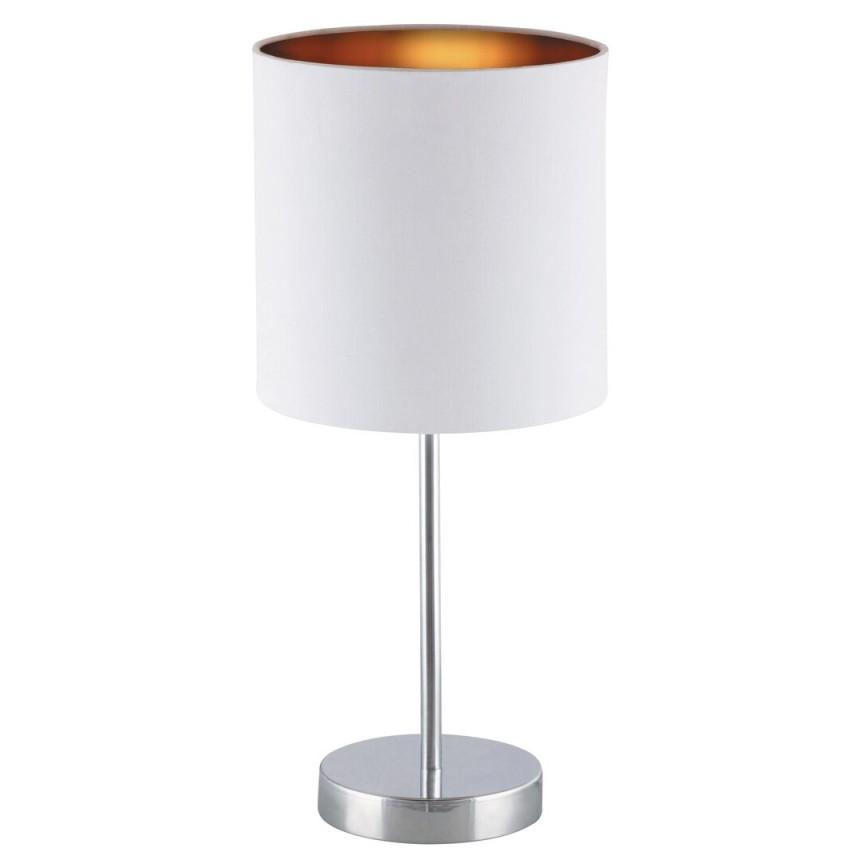Veioza design modern MONICA alb/auriu/crom 2528 RX, Magazin,  a